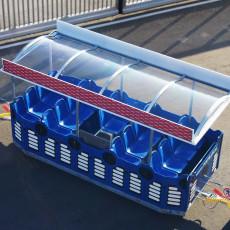 funtrain roof equipment