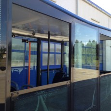 windows for opening - funtrain cityliner